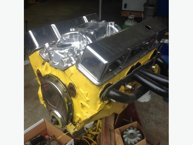 High Performance 283 small block Chevy
