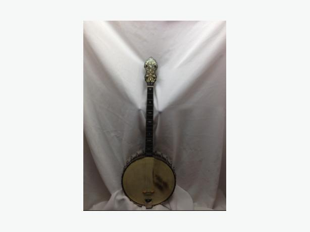 Bacon & Day (B&D) Style 'A' Super Tenor banjo, serial #: 13628, from 1925.