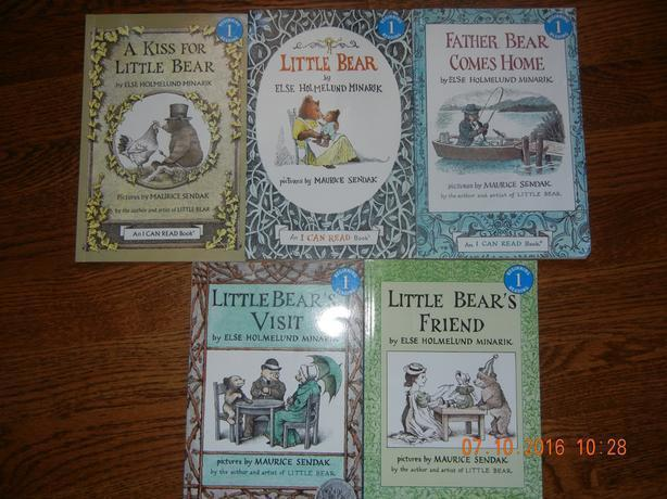 LITTLE BEAR SERIES - READING LEVEL 1 (5 IN TOTAL)