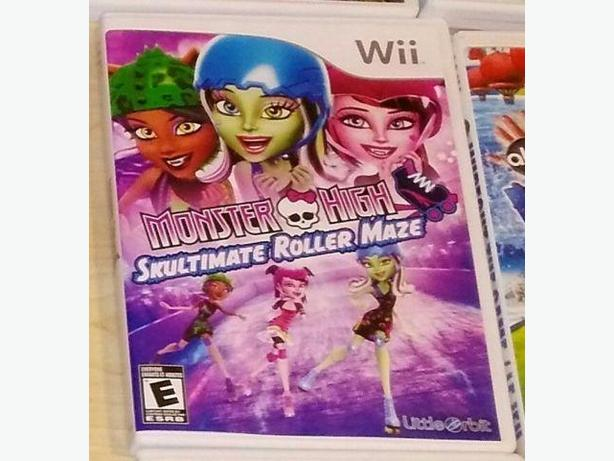 Monster High Skultimate Roller Maze For The Nintendo Wii