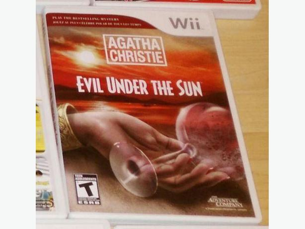 Agatha Christie Evil Under The Sun For The Nintendo Wii