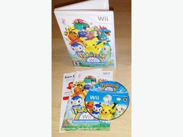 Poke Park Pikachu's Adventure For The Nintendo Wii