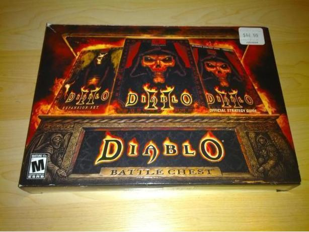 Diablo Battle Chest - Diablo I - II - Lord Of Destruction