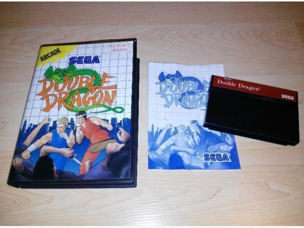 Double Dragon For The Sega Master System - CIB