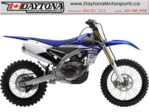 2017 Yamaha YZ450FX Dirt Bike  * BRAND NEW *