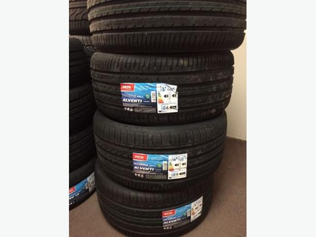 NEW 255/35/R20 & 285/30/R20 Zeta Alventi staggered tires