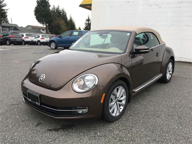 2014 Volkswagen Beetle Highline Convertible W Tech Pkg