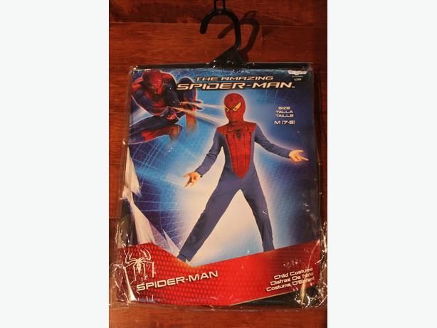 KIDS SPIDER MAN COSTUME BRAND NEW NEVER USED