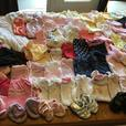 MAKE OFFER VERY LARGE Girls 3 - 6 month baby children clothes
