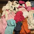 MAKE OFFER VERY LARGE Girls 12 month + baby children clothes lot