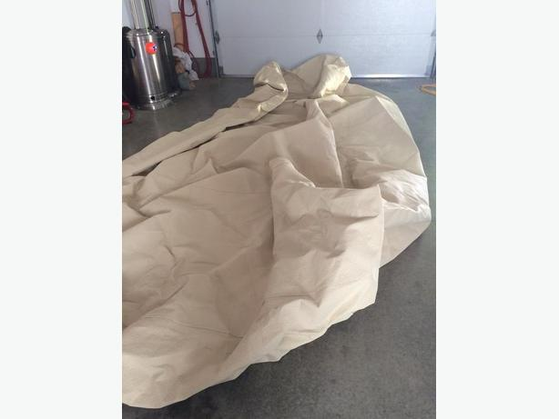 wolf car cover like new