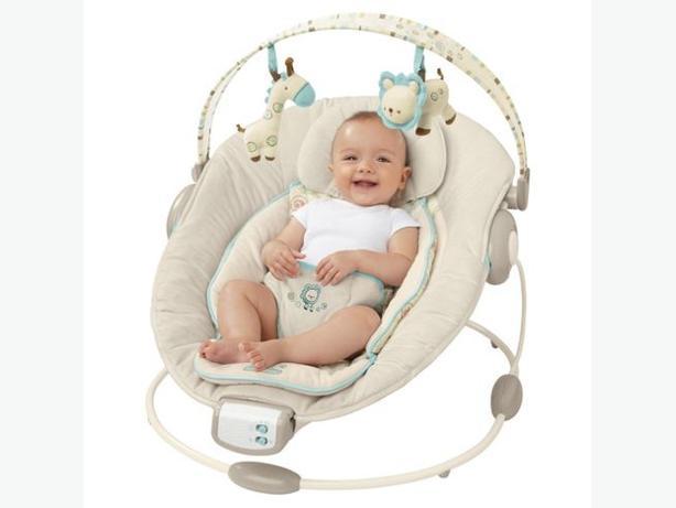 Bright Starts Biscotti Baby Premium Bouncer