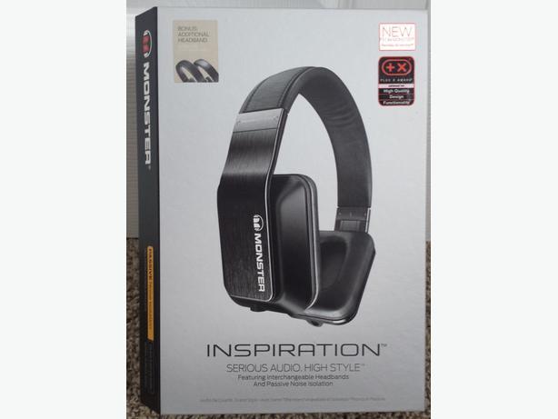Headset Headphones Monster Inspiration Brand