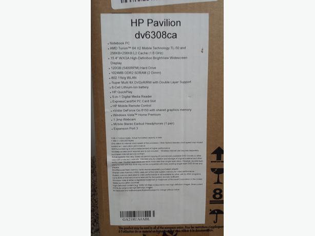 """HP Pavilion dv6308ca (15.4"""" Monitor)"""