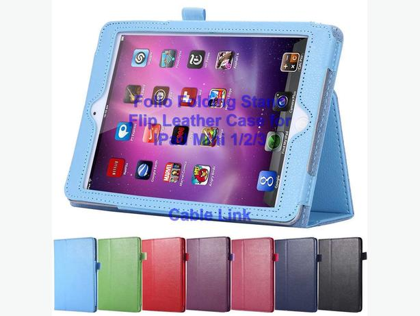 Smart Wake/Sleep Flip Stand Leather Case Apple IPad Mini 1/2/3