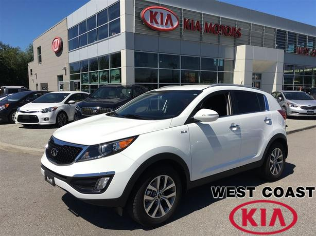 2014 Kia Sportage EX All Wheel Drive 4x4