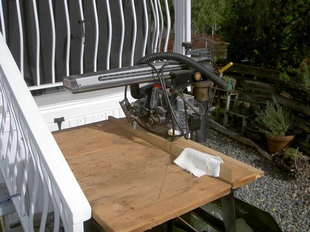"Craftsman 10 "" Radial Alarm Saw"