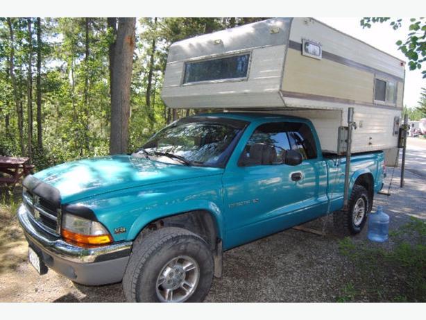 Dodge dacota 2500 truck/camper