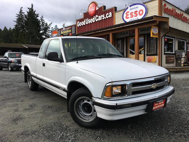 1994 Chevrolet S10 2WD Manual Transmission - 4 Cylinder! Low KM!