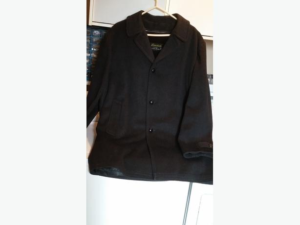 Wool Blend Dress Coat