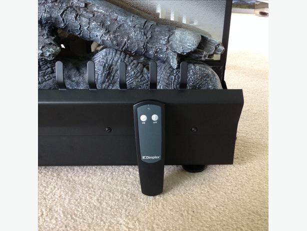 Electric Fireplace Insert with Remote Control