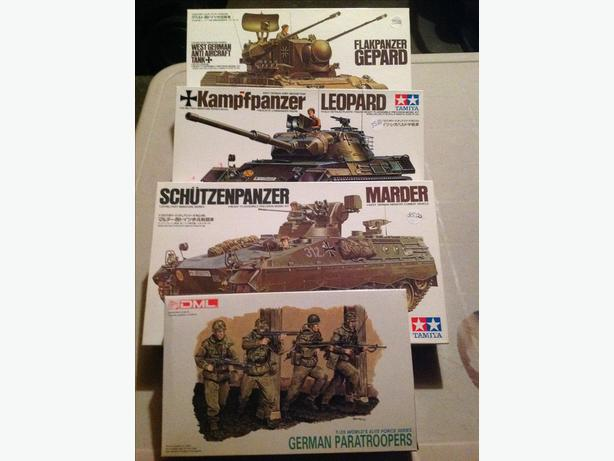 Tamiya Modern German Armour & Troops Set