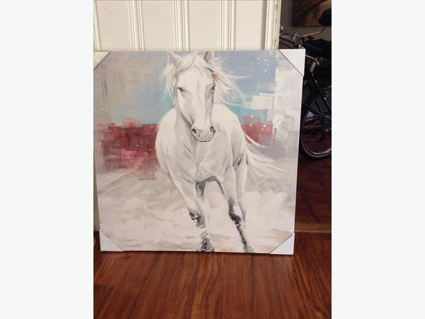 Large canvas brand new painting