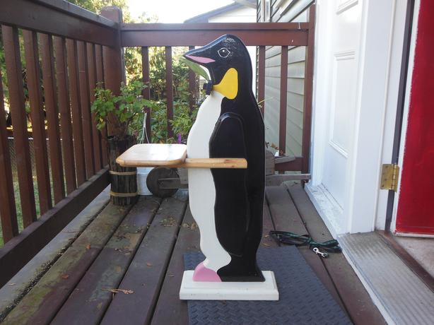 Penguin Plant Stand