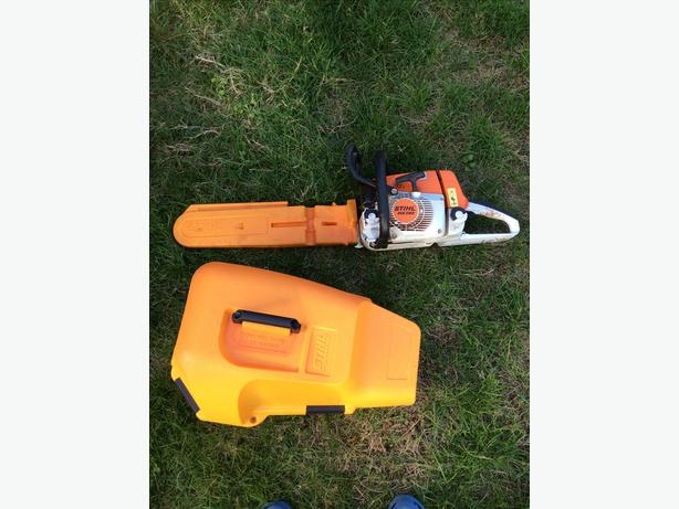 Stihl ms-260 chainsaw
