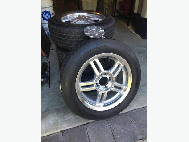 REDUCED: Set of 4 BF Goodrich Winter Tires