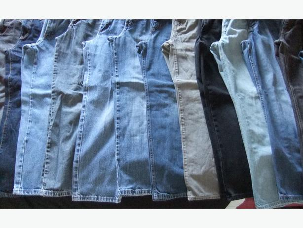 13 pairs of boys jeans - size 12
