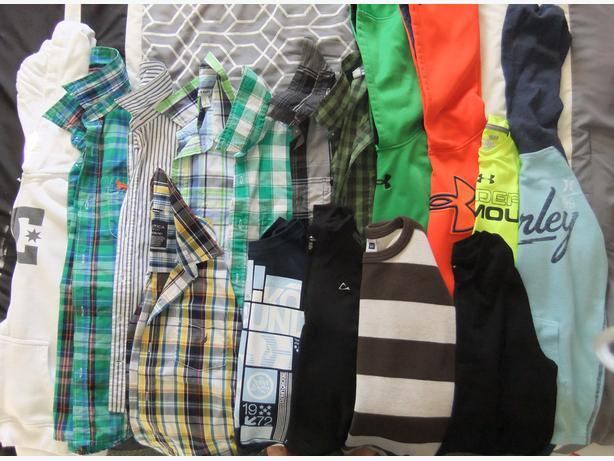 16 boy's long sleeve shirts - size 14 - 16