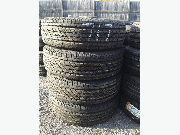 225/70R16 TOYO ALL SEASON TIRES LOT 717