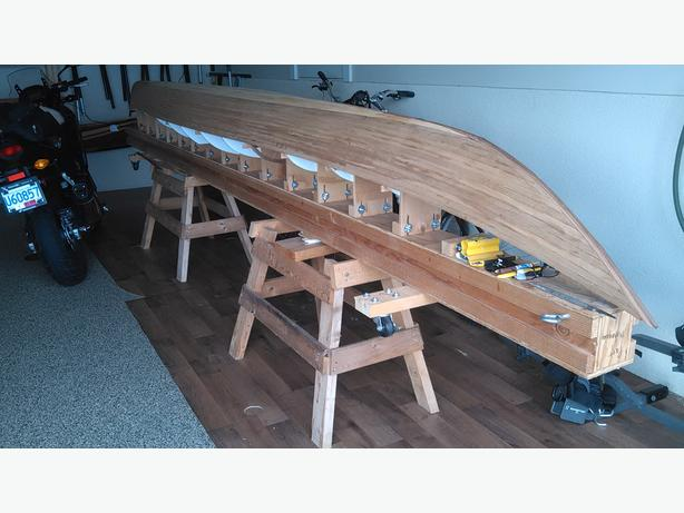 cedar strip kayak