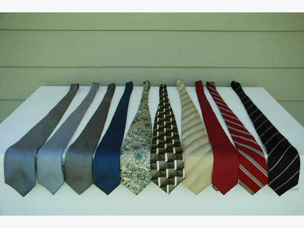 Men's Dress Ties (assorted colours and patterns in silk & wool)