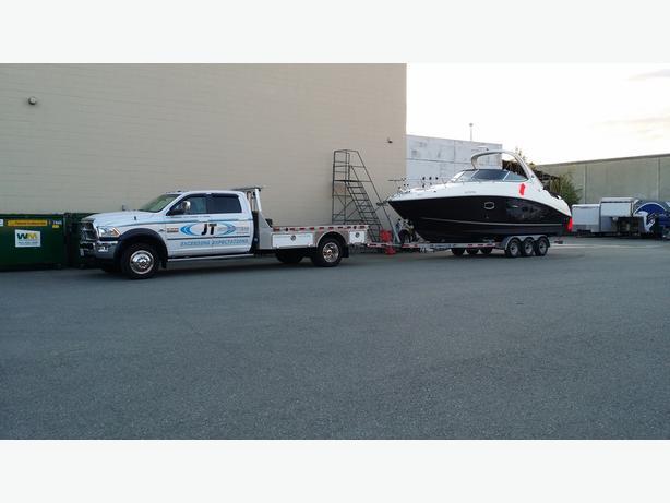 Boat Hauling BC, Sailboat Hauling BC, Boat & Trailer Hauling or Towing BC
