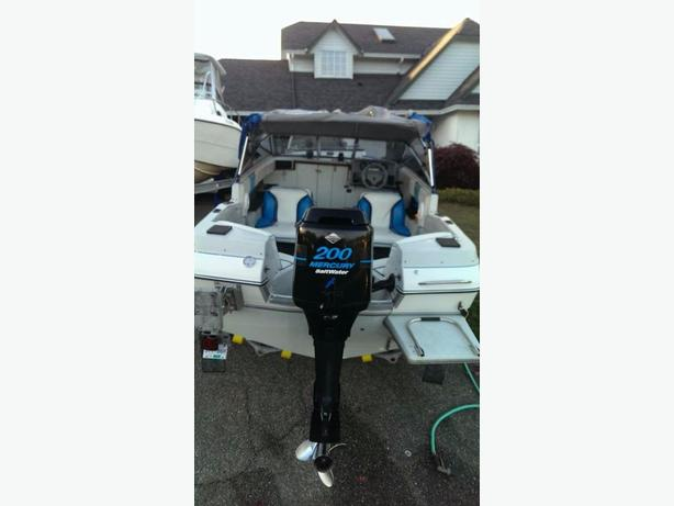 18 1/2 campion allante boat and trailer