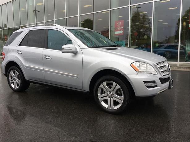 2011 Mercedes-Benz M-Class ML350 AWD LOCAL B.C.