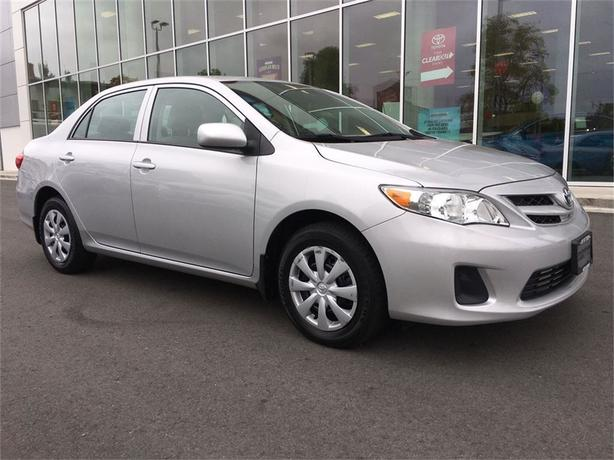 2013 Toyota Corolla CE NO ACCIDENTS LOCAL VICTORIA ONE OWNER