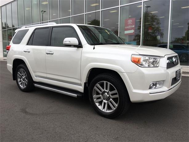 2013 Toyota 4Runner LIMITED NO ACCIDENTS LOCAL VICTORIA ONE OWNER