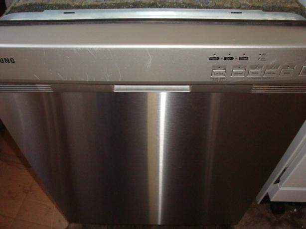 Samsung Energy Star stainless steel dishwasher,with stainless steel inner tub