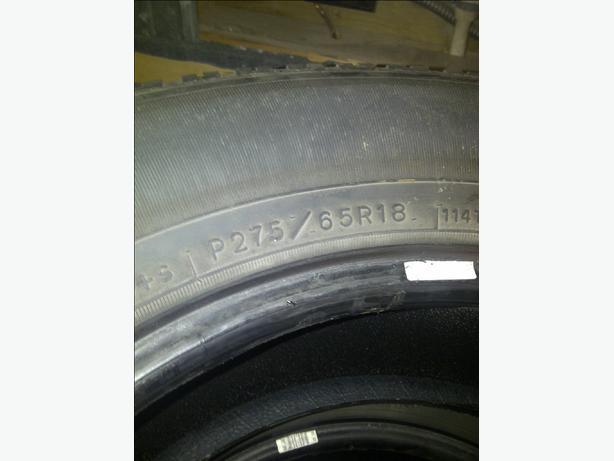 Goodyear Wranger Tires