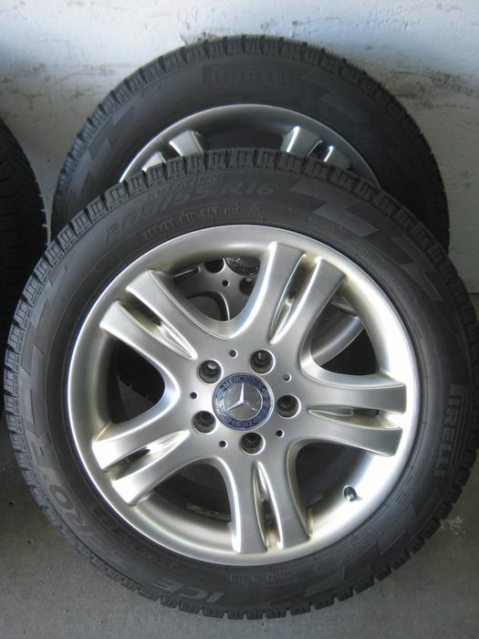 205 55r16 mercedes benz rimes and pirelli ice zero winter for Mercedes benz winter tires