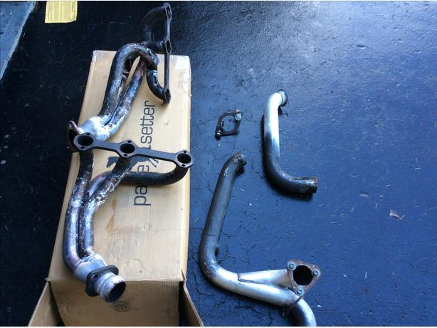 Chev v6 headers