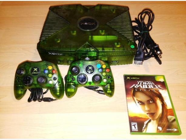 Hard To Find Halo Limited Edition Transparent Green Xbox System
