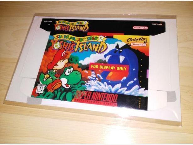 Unused Yoshi's Island (SNES) For Display Only Box