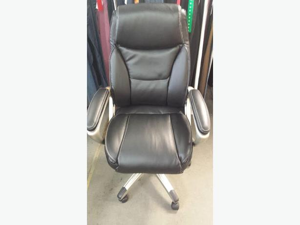 LEATHER - OFFICE CHAIR