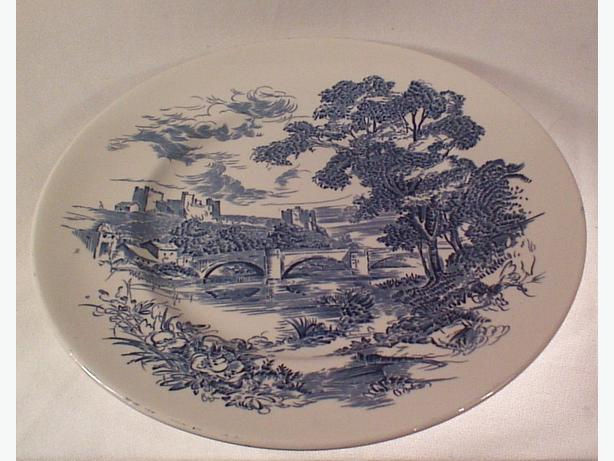 Countryside Enoch Wedgwood plate