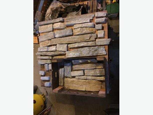 FREE: (Cultured Stone - 12 sq ft)