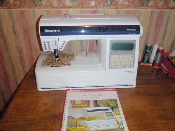 Husqvarna Viking Designer II Sewing Machine